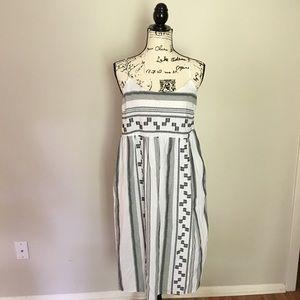 LOFT Beach - Easy cotton beach dress. B & W